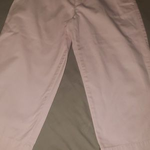 Ralph Lauren Pants - 12 Ralph Lauren pink cropped wide leg pants